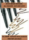 AVON EYEBROW DEFINER Glimmerstick Brow Definer CHOOSE YOUR SHADE  ***FREE P