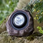 Extra Large Outdoor Garden LED Solar Decorative Rock Stone Spot Lights Lamps New