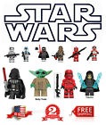 Star wars Minifigure Building Blocks Jedi Sith Vader Yoda Rey Dark Rey $5.99 USD on eBay