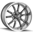 "4-Ridler 650 17x8 5x4.5"" +0mm Gunmetal Wheels Rims 17"" Inch $663.96 USD on eBay"