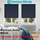 BLACKOUT ROLLER BLINDS IN 30 COLOURS, NAVY BLUE, GREY, CREAM, WHITE, PINK, GREEN