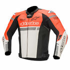 Alpinestars Missile Ignition Tech Air Compatible Leather Motorbike Riding Jacket