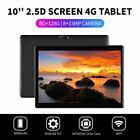 10.1  WIFI/4G-LTE 8G+128G Tablet Android 9.0 HD PC bluetooth SIM GPS Dual Camera