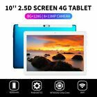 "10.1"" WIFI/4G-LTE 8G+128G Tablet Android 9.0 HD Screen PC SIM GPS Dual Camera"