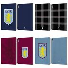 OFFICIAL ASTON VILLA FOOTBALL CLUB CREST LEATHER BOOK CASE FOR APPLE iPAD