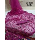 Heavy Pakistani Indian Designer Embroidery Soft Net Sari Bollywood Party Wear