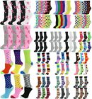 6 Pack/12 Pack Women's Cotton Crew Socks