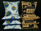 Set Of 8 Golden State Warriors Anaheim Ducks Hockey Cornhole Bean Bags FREE SHIP on eBay