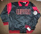 LOS ANGELES CLIPPERS Track Jacket  BLACK  Thick Polyester 5X on eBay