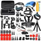 Deyard Accessories Kit Set for GoPro Hero 8 Hero 7 Hero 6 Hero 5 Hero 4 Hero HD(