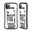 HEAD CASE DESIGNS LUGGAGE TAGS HYBRID CASE FOR APPLE iPHONES PHONES