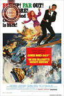 JAMES BOND ON HER MAJESTY'S SECRET SERVICE ORIGINAL MOVIE PRINT PREMIUM POSTER $19.95 AUD on eBay