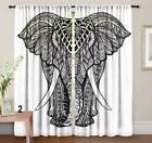 Indian Cotton Mandala Twin Size Window Curtains Ethnic Door Curtains Home Deocr