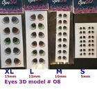 EYES STICKERS 3D OJOS MODEL#O8  AUTOADHESIVOS,PORCELAIN,CLAY,FOAM eyechips image