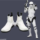 NEW !Star Wars The Force Awakens Stormtrooper White Short Cosplay Shoes Boots : $48.0 USD on eBay