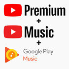 Kyпить YouTube Premium & YouTube Music — ACCOUNT — | WORLDWIDE на еВаy.соm