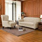 Subrtex 1/2/3/4 Seater Stretch Chair Sofa Covers Couch Cover Slipcover Elastic