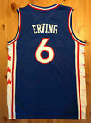BRAND NEW Julius Erving #6 Philadelphia 76ers Blue Stitched Basketball Jersey on eBay