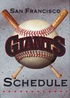 1980's to 2000's San Francisco Giants Baseball Schedule - U-Pick From List on Ebay