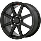 "Motegi MR142 15x6.5 4x100/4x108 +40mm Satin Black Wheel Rim 15"" Inch $120.0 USD on eBay"