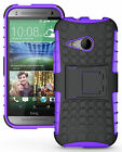 GRENADE GRIP RUGGED TPU SKIN HARD CASE COVER STAND FOR HTC ONE REMIX ONE MINI-2
