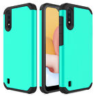 For Samsung Galaxy A01 A11 A21 A10e A20 Case Shockproof Hybrid Armor Phone Cover