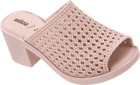 Women's melissa Mule II and Jason Wu Ad Woven Slide Light Pink