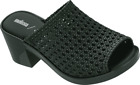 Women's melissa Mule II and Jason Wu Ad Woven Slide Dark Green