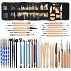 51PCS Clay Sculpting Tool Modelling Pottery Models Ceramic Tool Set With Case image