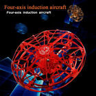 Mini UFO Drone RC Infrared Sensor Induction Aircraft Quadcopter Flying Toy New