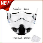 Star Wars Adult Cotton Face Mask [1 Mask + 2 Filters] $16.97 USD on eBay