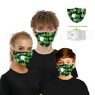 FixedPrice1/3/5 pcs reusable mask with breathing valve pm2.5 facemask reuse
