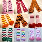 NEW Baby and Toddler Leg Warmers Holiday styles Pink Ballet Halloween Christmas