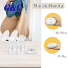 New Electric USB Breast Pump With Milk Bottles Breast Massager Milk Extractor