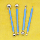 9Pcs Ball Stylus Dotting Tools for Clay Pottery Doll Modeling Paper Flowers image