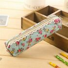 Cosmetic Makeup Zipper Bags Pencil Storage Organizer Case Beauty School Supplies