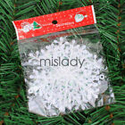 Classic White Snowflake Ornaments Christmas Holiday Festival Party Home Decor