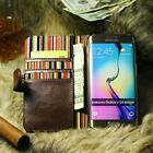 Leather Flip Pouch Wallet Cover Accessories Bag Book
