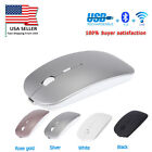 Rechargeable Bluetooth Wireless  Dual-Mode Mouse  mice Slim Silent for Mac PC