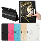Universal Folio Leather Stand Cover Case For 10 10.1 Inch Android Tablet PC TON $11.35 USD on eBay