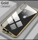 iPhone Case Metal Magnetic For  All iPhone 11 Pro XS Max