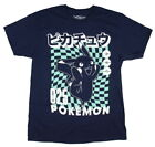 Pokemon Men's 025 Pikachu Graphic Design T-Shirt