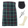 More images of 4 Piece Kilt Package with Pin Hose and Sporran - Sizes 30-44 - MacKenzie Modern