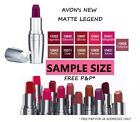 NEW! AVON MATTE LEGEND LIPSTICK SAMPLES SEALED CHOOSE YOUR SHADE **FREE P