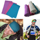 3 pcs Ice Cold Instant Cooling Towel for Sports Gym Yoga Fitness Workout Jogging image