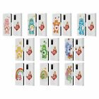 OFFICIAL CARE BEARS CLASSIC LEATHER BOOK WALLET CASE COVER FOR SAMSUNG PHONES 1
