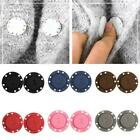 1pair Invisible Magnetic Round Snap Fasteners Button Purse Diy Handbag F8g6
