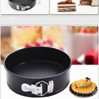 NonStick Coated Round Cake Mold Pan Kitchen Tray Spring Form Bakeware 7/8/9 Inch