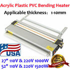 Acrylic Lightbox Plastic PVC Bending Machine Heater Bender Infrared Calibration