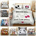 Duvet Cover Bedding Set Mickey Mouse Design Quilt Cover Pillow Cases All Sizes